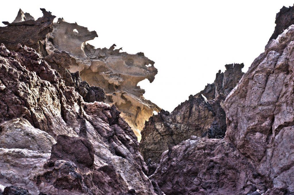 Valley of sculptures Hormoz Island