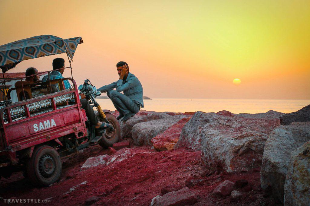 Red Soil Mine - Hormoz Island