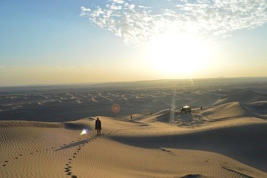 Bafgh desert - Iran desert