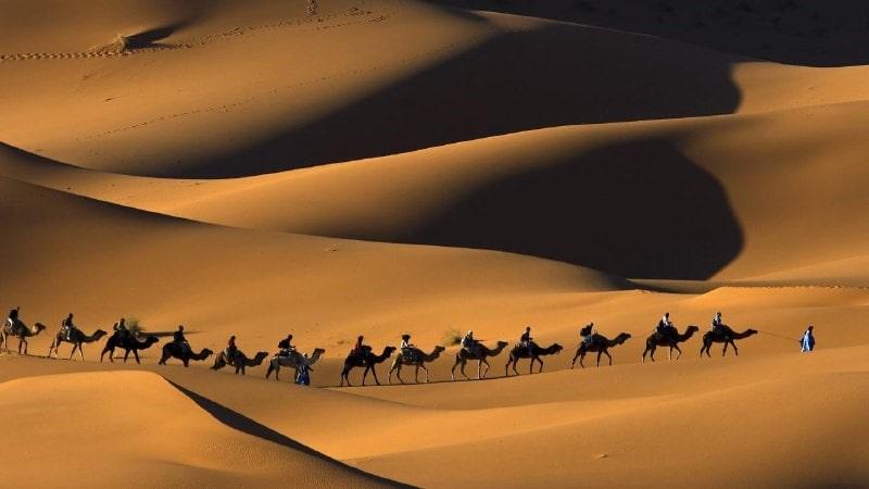 Varzaneh Mesert - Iran desert