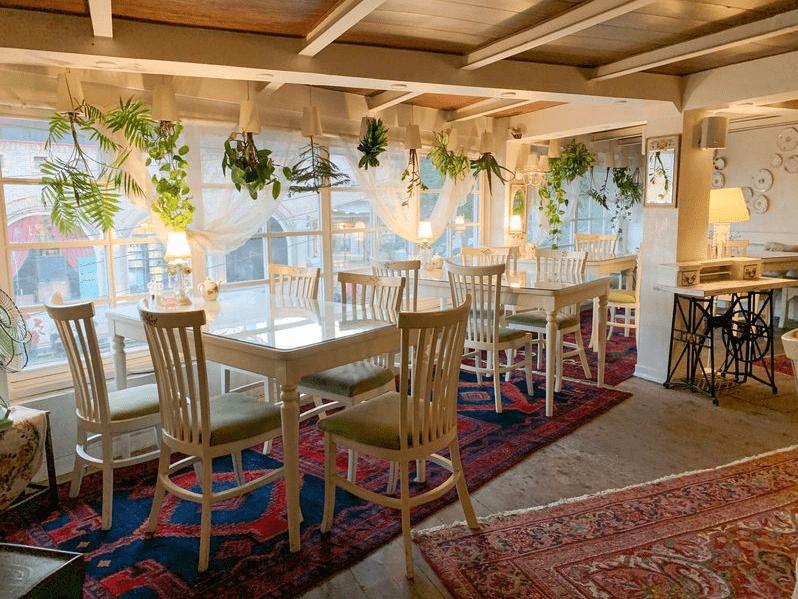 Zamin vegeterian restaurant in Tehran