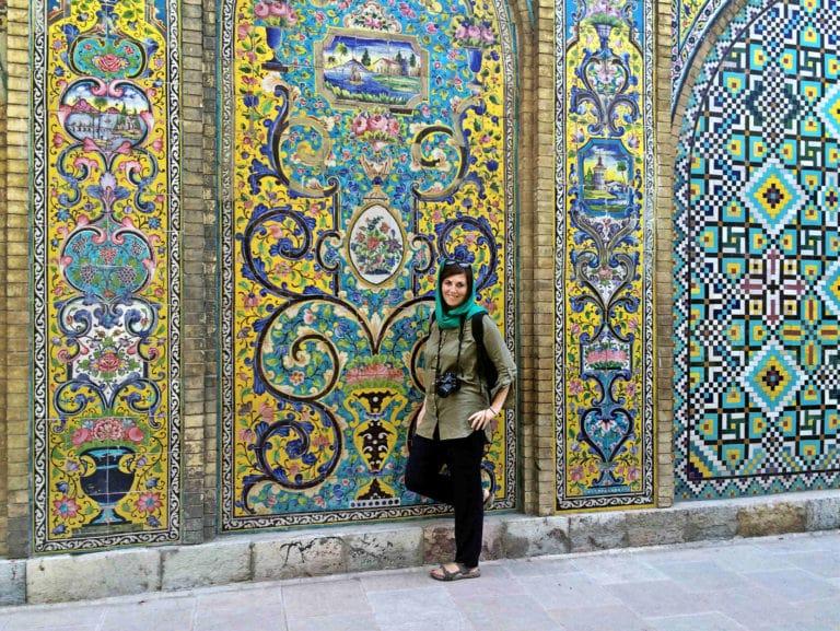 Solo Female Traveler in Iran