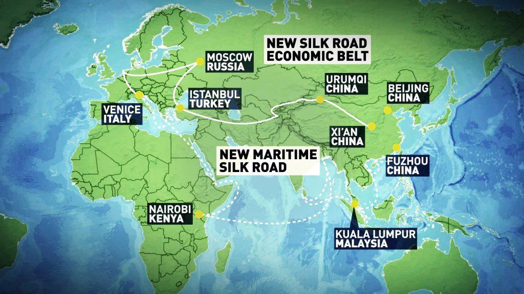 New Silk Road Economic Belt