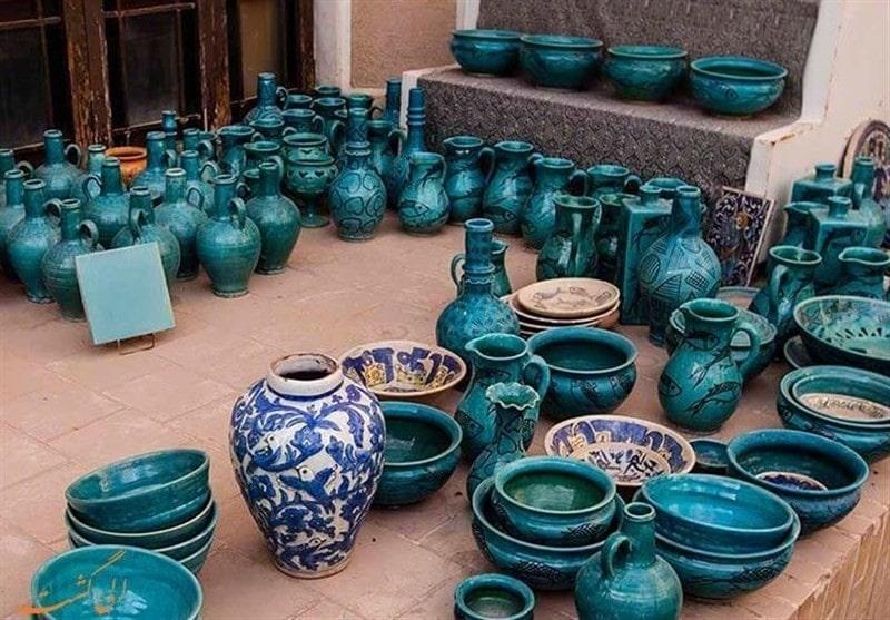 A batch of ceramic works