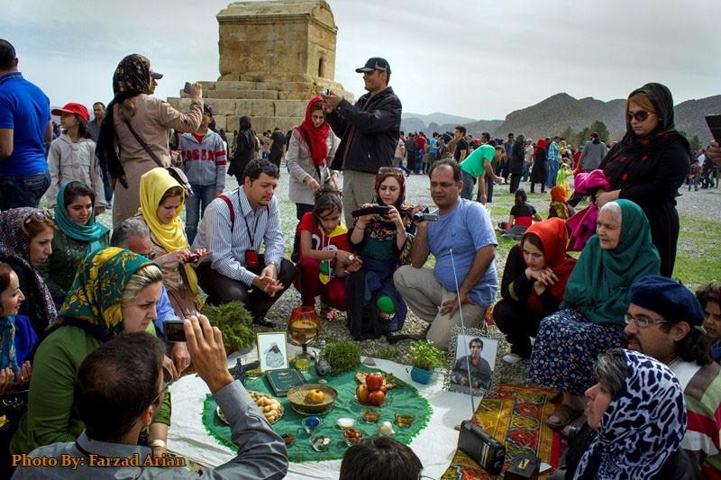 Iranian Family in Travel