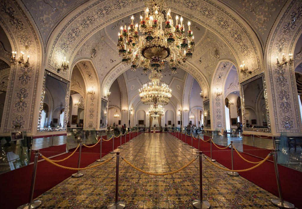 Salam Hall (Talar e Salam) at the Golestan Palace