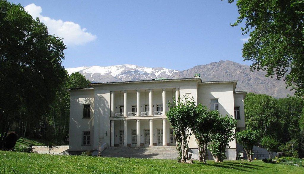 Nation's Palace at Saadabad Palace Complex