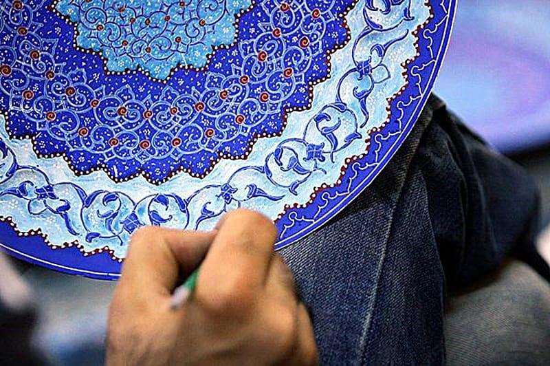 The Art of Minakari in Iran