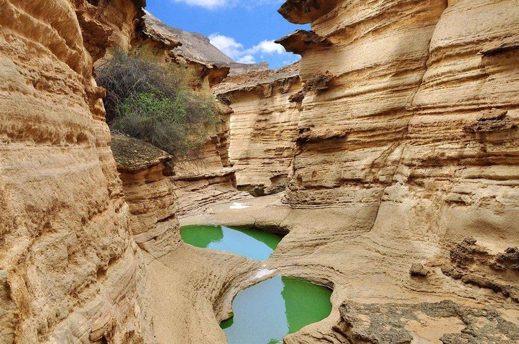 Chahkooh canyon on Qeshm