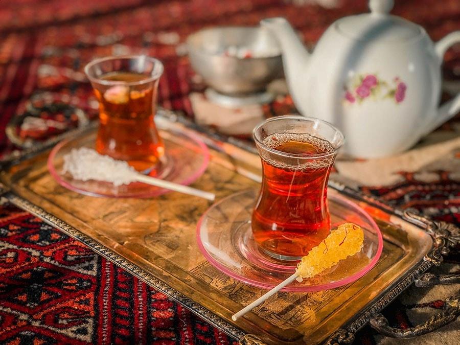 Iranian chai - persian drinks