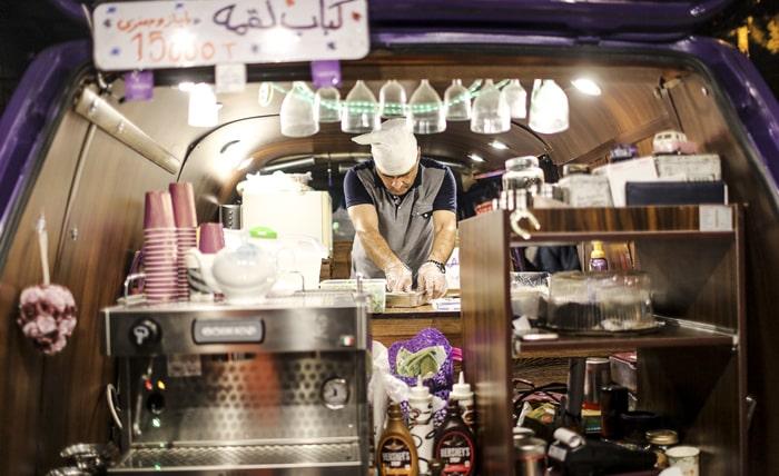 30 Tir Street, Tehran Nightlife, Tehran Street Foods