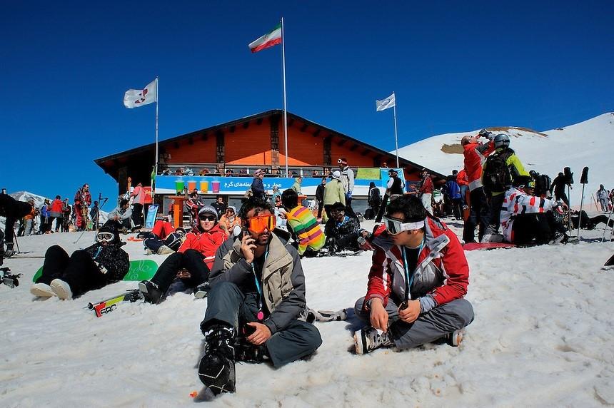 Dizin Ski Resort; The Largest Iranian Ski Resort