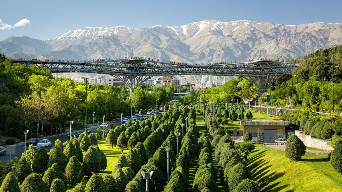 Tehran Tabiat Bridge: A Modern Icon