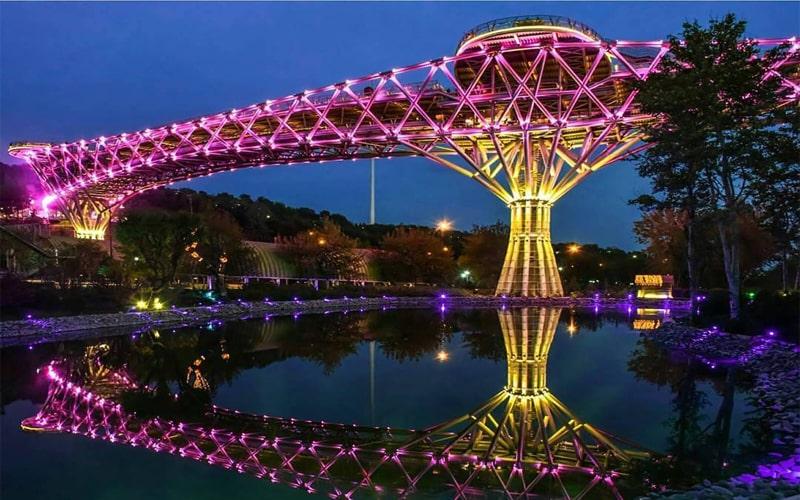 Tehran Attractions, Tabiat Bridge