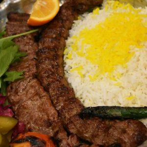 Tehran best food: Chelo Kebab