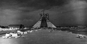 Azadi Tower Construction