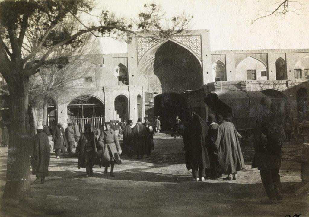 Old Photo of Tehran Grand Bazaar