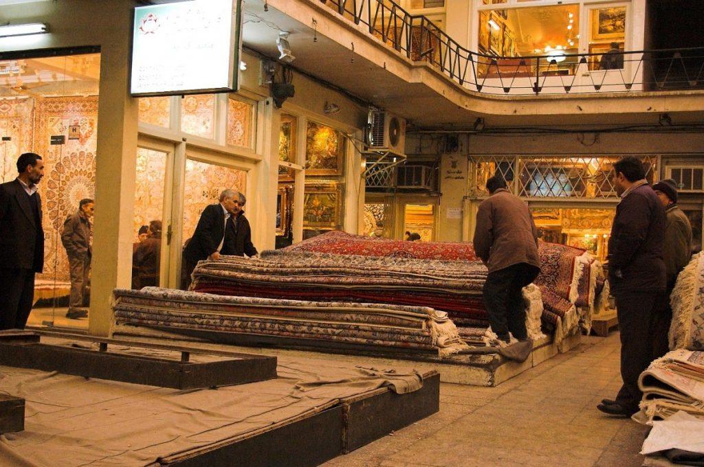 Tehran Grand Bazaar Carpet