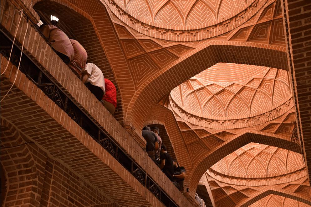 Tehran Grand Bazaar Roof