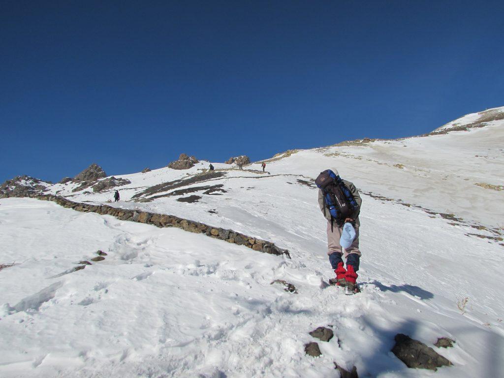 Darband Hiking Trail, winter