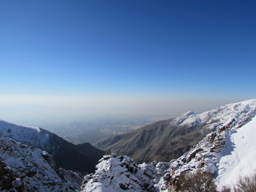 Tehran view, Darband Mountains