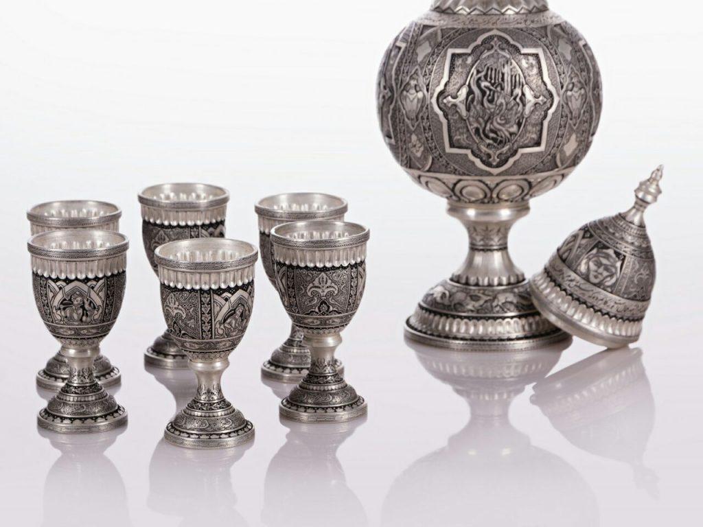 Tehran Souvenirs: Silver Carvings