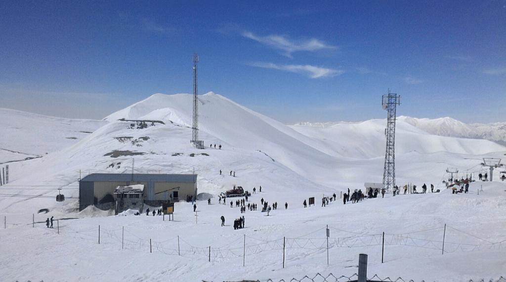 Tehran Tochal Ski Resort, Tochal Slopes