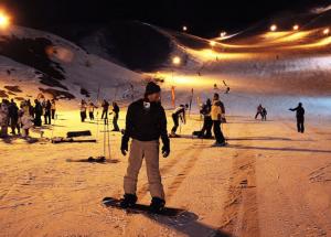 Night Skiing in Shemshak