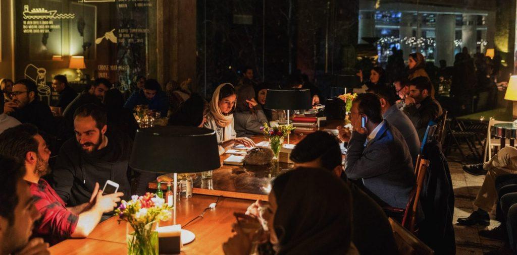 Tehran Cafés, at Nights