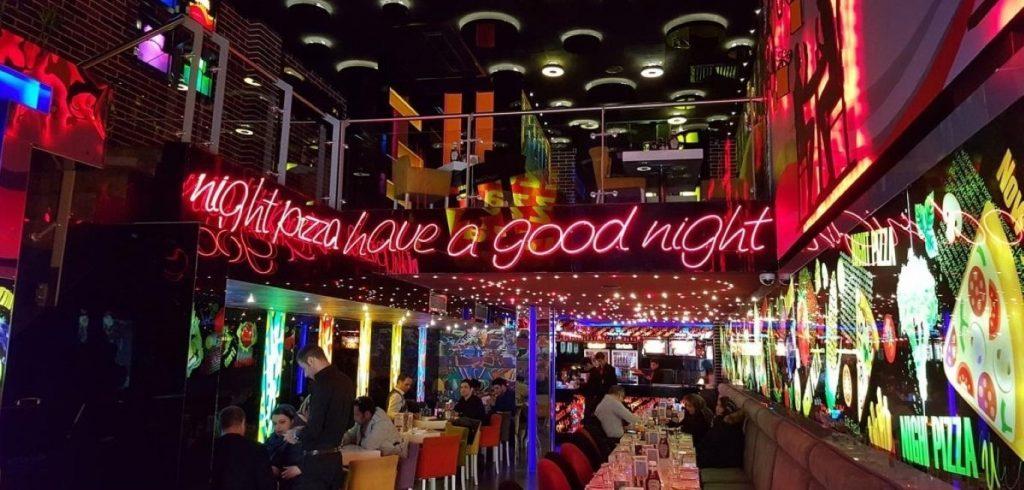 Tehran Nightlife, Night Pizza