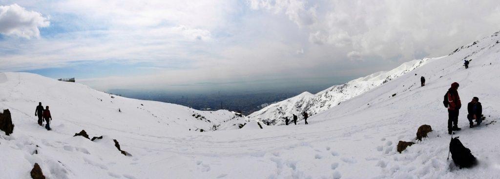 Tehran Tochal Ski Resort, Tochal Peak