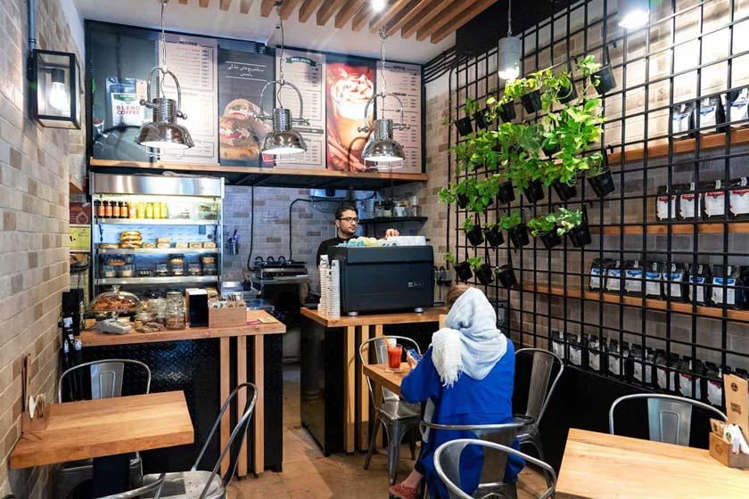 Tehran Chain Cafés