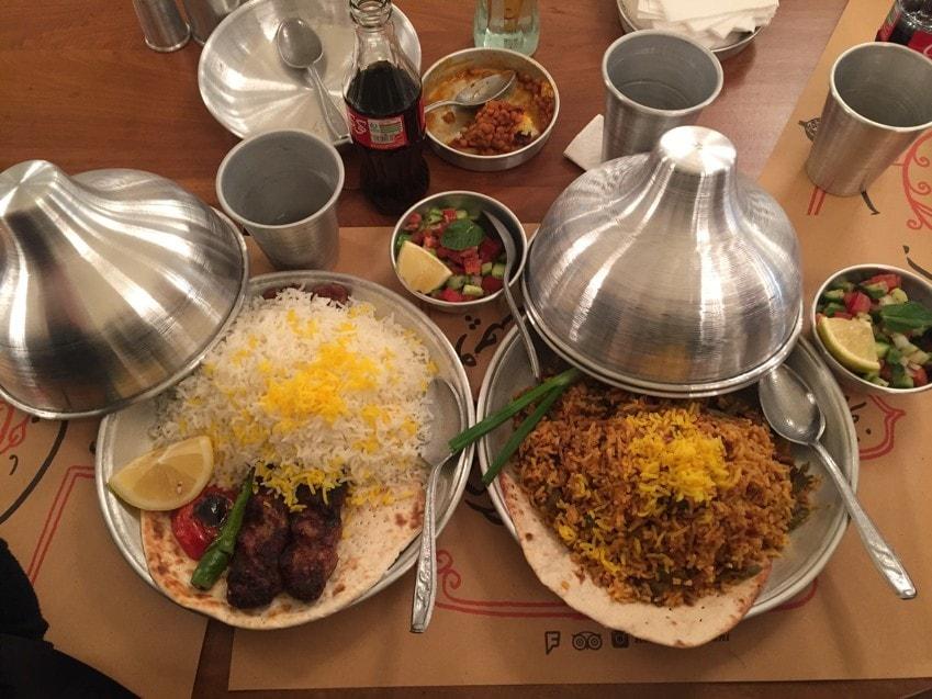 Tehran Restaurants and Cafés: Rouhi Restaurants