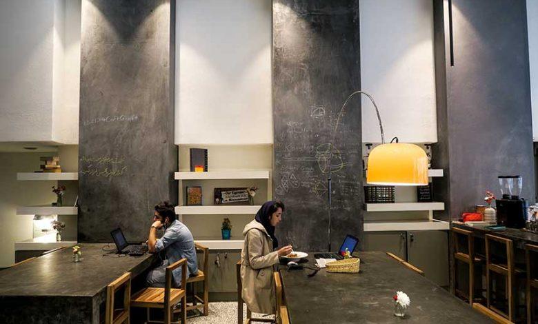 Café in Tehran