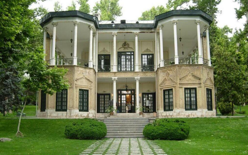 Niavaran Palace, Ahmad Shahi Pavilion
