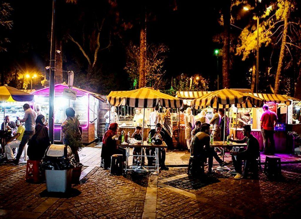 30 Tir Street Tehran, Street Food Tehran, Entertainment in Tehran, Tehran Nightlife