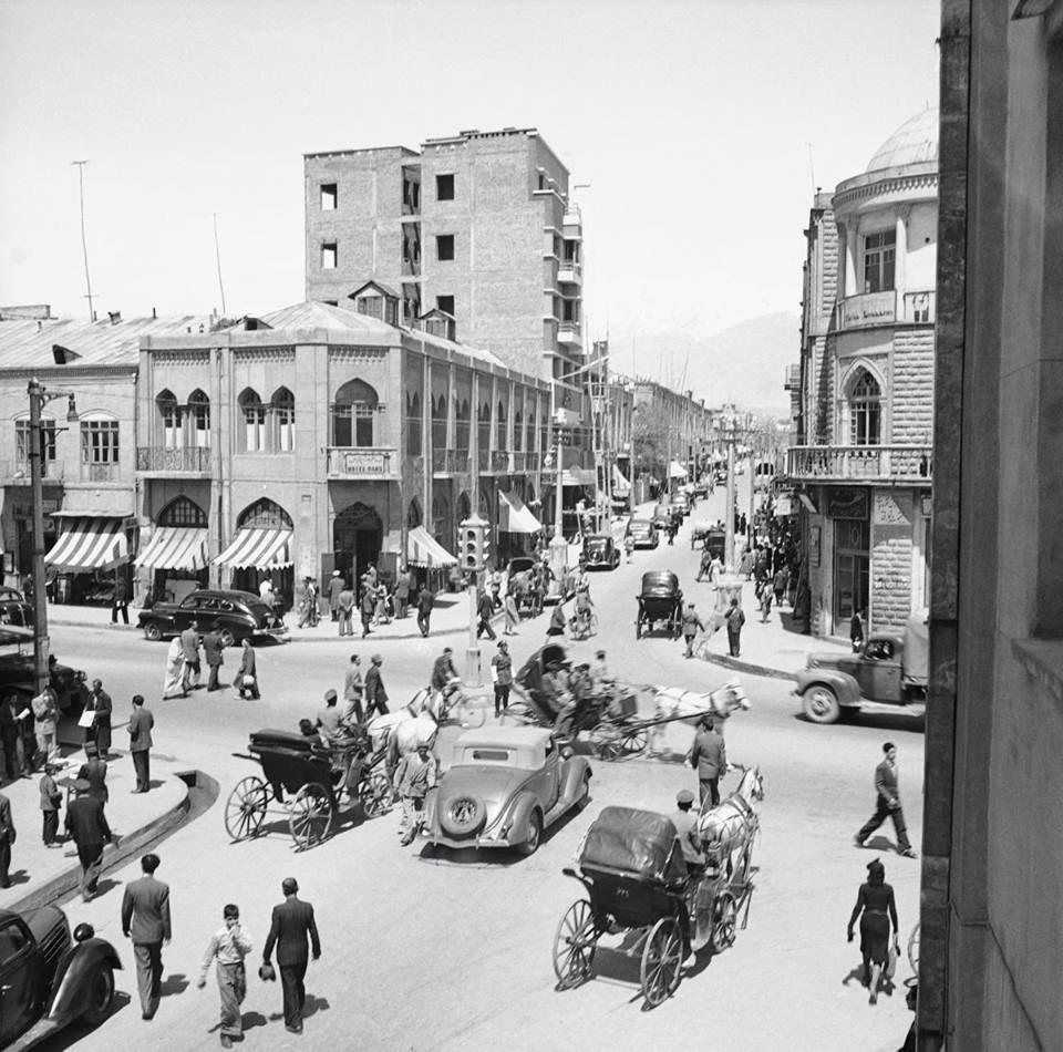 Old Tehran, Laleh Zar Street