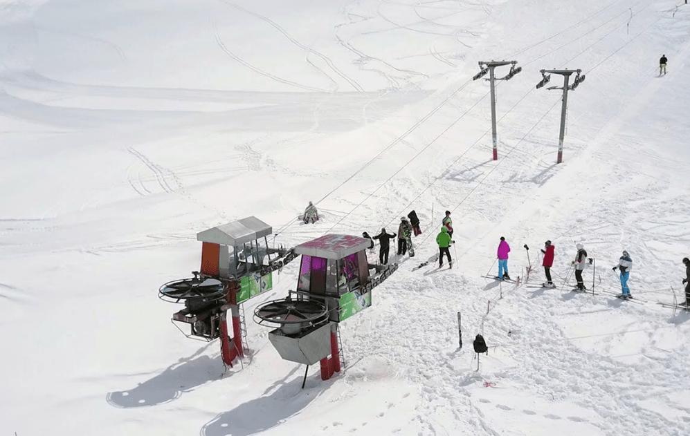 Sahand Ski Resort, Iran Ski Resort, Skiing in Iran, Skiing in Tabriz