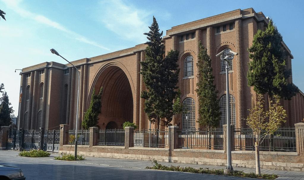 The National Museum of Iran, 30 Tir Street, Entertainment in Tehran, Tehran Museums