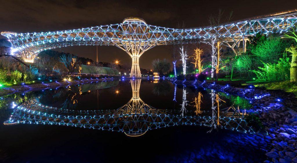 Tehran Tabiat Bridge, Tehran Attractions, Best Places to Visit in Tehran