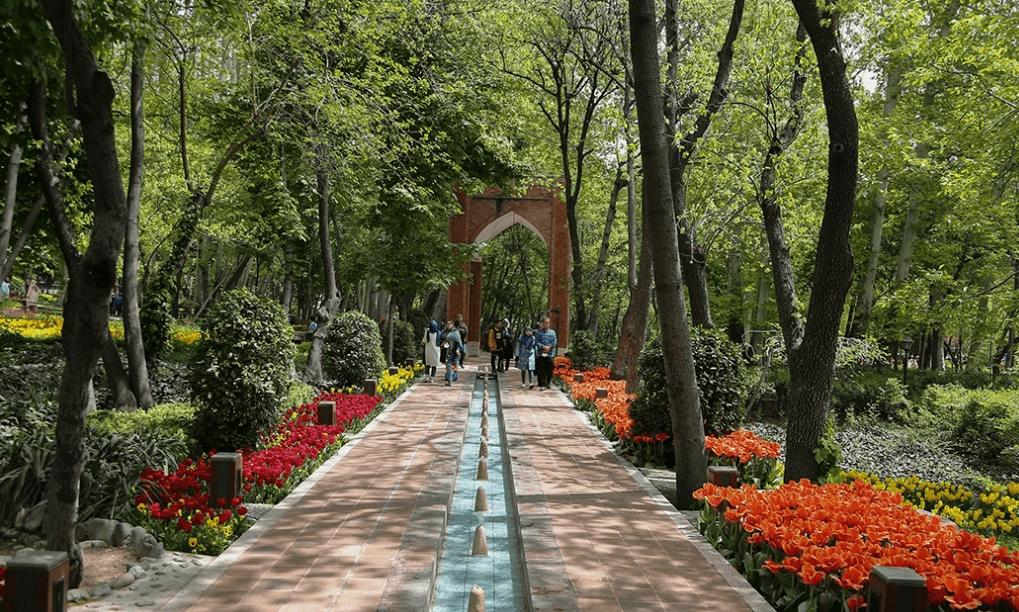 Iranian Garden, Tehran Spring, Spring in Tehran