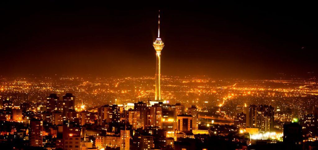 Tehran Nights, Tehran Nightlife, Milad Tower, Tehran Province
