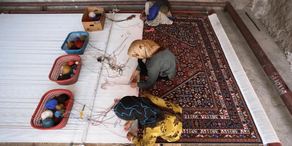 Persian Carpet Weaving, Persian Carpet, Iranian Handicrafts