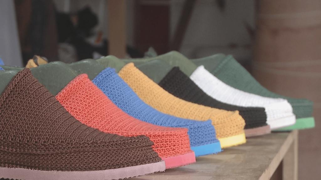 Giveh, Giveh Weaving, Iranian Handmade Shoesv