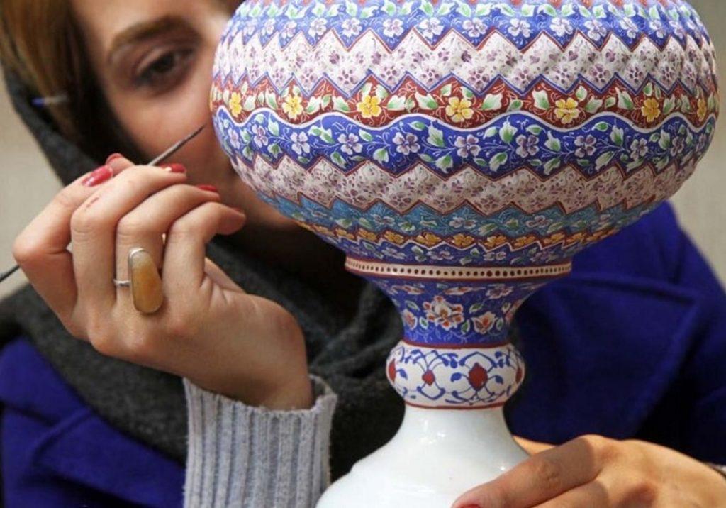 Mina Kari, Iran Handicrafts, Iranian Handicrafts