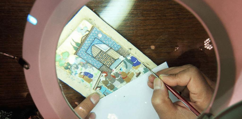 Miniature, Iran Handicrafts, Best Iranian Handicrafts